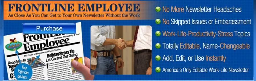 employee newsletter information topics articles