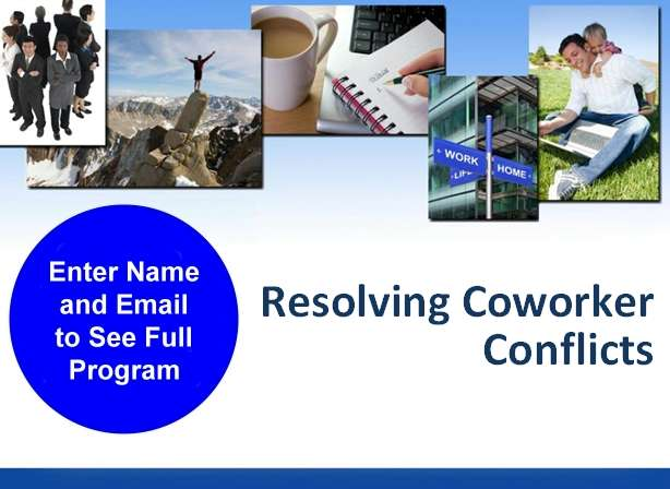 workplace conflict resolution powerpoint training