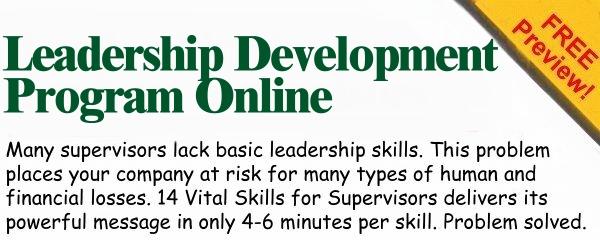 Leadership Development Program Online