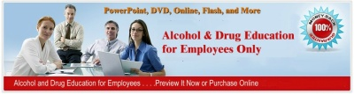 Alcohol and Drug Course Awareness Training