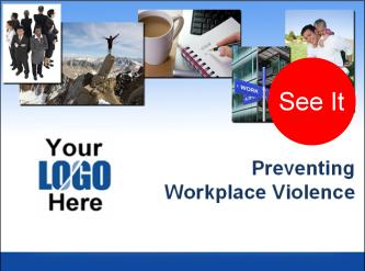 violence in the workplace training