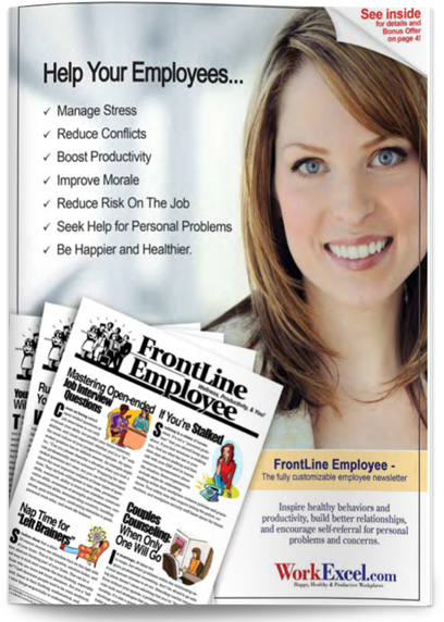 frontline employee newsletter download free samples